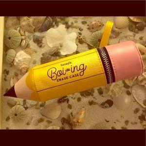 Benefit Cosmetics Pencil Shaped Makeup Case Holder